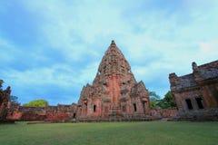 Gammalt slott i Thailand. Arkivfoton