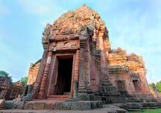 Gammalt slott i Thailand. Arkivbilder