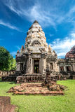 Prasat Phanom Wan,Khmer Ruin in  Nakhon Ratchasima Stock Photo