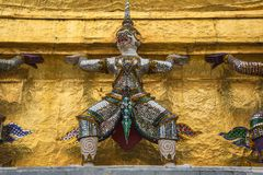 Prasat Phra Dhepbidorn le Panthéon royal Photos stock