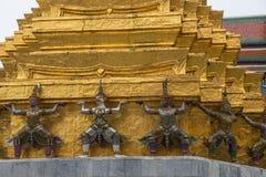 Prasat Phra Dhepbidorn le Panthéon royal Images stock