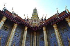 Prasat Phra Thep Bidon, Wat Phra Kaew, Tailandia Fotografia Stock