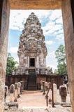 Prasat Sadok Kok Thom historic site at Sa Kaeo Province in Thail Stock Image