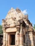 Prasat Sdok Kok Thom, der historische Park in Thailand Lizenzfreies Stockbild