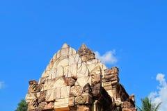 Prasat Sdok Kok Thom, der historische Park in Thailand Stockfoto