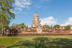 Prasat Sdok Kok Thom, Khmer temple in Thailand Stock Photo