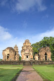 Prasat Sikhoraphum ,Castle Rock temple in Surin, Thailand Royalty Free Stock Photo
