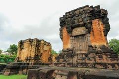 Prasat Sikhoraphum of de tempel van Castle Rock in Surin van Thailand Royalty-vrije Stock Foto