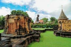 Prasat Sikhoraphum of de tempel van Castle Rock in Surin van Thailand Royalty-vrije Stock Afbeelding