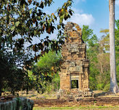 Prasat Suor Prat σε Angkor Thom σύνθετο, Καμπότζη Στοκ φωτογραφία με δικαίωμα ελεύθερης χρήσης