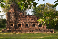 Prasat Ta Muang at sunset Stock Images