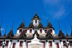 prasat thailand för slott för bangkok lohametall Arkivfoton