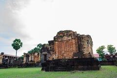 Prasat Wat Sa Kamphaeng Yai, Mahayana Buddyjska świątynia, Sisaket, obraz royalty free