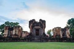 Prasat Wat Sa Kamphaeng Yai, temple bouddhiste de Mahayana, Sisaket, Images libres de droits
