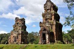 Prasats Suor Prat σε Angkor Wat Στοκ Φωτογραφία