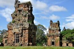 Prasats Suor Prat σε Angkor Wat Στοκ Εικόνα