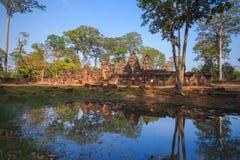 Prasay Banteay Srei. Prasat Banteay Srei in Cambodia Stock Photos