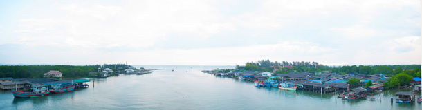 Prasea river relate in Rayong province thailand Royalty Free Stock Photo