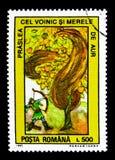 Praslea Apple courageux et d'or, serie de contes de fées, vers illustration de vecteur