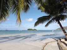 Praslin beach Stock Photography