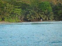 Praslin de Anse lazio Foto de Stock
