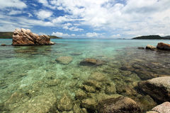 Praslin island. Royalty Free Stock Photo