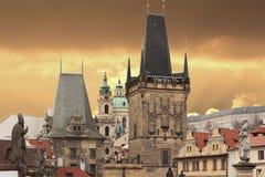 Prasna Brana в Праге стоковые фотографии rf