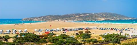 Prasonisi Rhodes Greece. Overlooking Prasonisi Cape on  Rhodes Island  Greece Europe Stock Photography