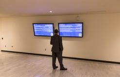 Prasowy centrum 71st sesja Narody Zjednoczone Obrazy Stock
