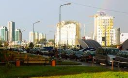 Praspiekt Dziarzynskaha 图库摄影