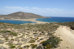 Prassonisi cape in Rhodes island Royalty Free Stock Image
