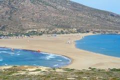 Prassonisikaap in het eiland van Rhodos Stock Afbeelding