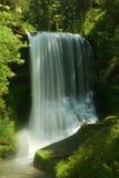 A prata cai parque de estado, quedas médias do norte Fotografia de Stock