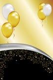 Prata e ouro Fotografia de Stock Royalty Free