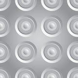 Prata infinito da quadriculação Fotos de Stock