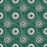 Prata infinito do verde da quadriculação Fotos de Stock