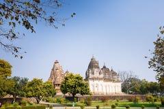 Pratapeshwar tempel Västra tempel av Khajuraho india Fotografering för Bildbyråer
