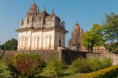Pratapeshwar Temple in  Khajuraho Stock Images