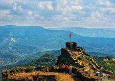 Pratapghad fort Royalty Free Stock Photo