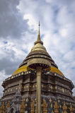 Pratartlampangluang Temple Royalty Free Stock Photography