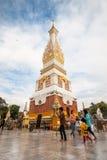 Pratat Panom temple, Nakorn Panom, Thailand Stock Photo