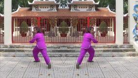 Pratctice tailandese di 'chi' video d archivio