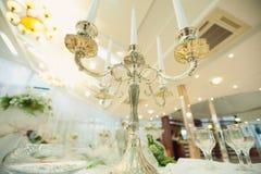 Prateie o candelabro Imagem de Stock