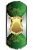 Prateie o medalhão ilustração royalty free