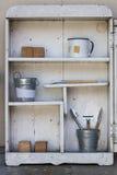 Prateleira branca do vintage Imagem de Stock