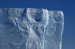 Prateleira de gelo antárctica Fotos de Stock Royalty Free