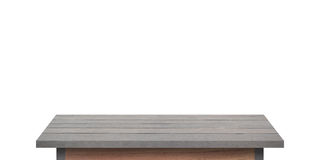 Prateleira de madeira para o fundo Fundo para o conceito da exposição do produto Imagem de Stock Royalty Free