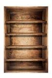 Prateleiras de madeira Fotografia de Stock
