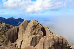 Prateleiras maximaux de montagne en parc national d'Itatiaia, Brésil photo libre de droits