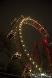 Prater attraction  in wien Royalty Free Stock Images